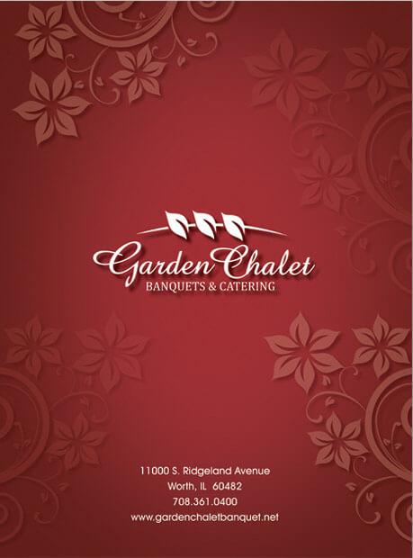 Garden Chalet<br>9 x 12 Folder with 2- 4 glued Pockets